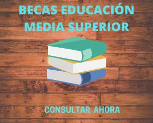 BECAS EDUCACIÓN MEDIA SUPERIOR