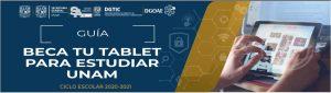 Beca tu tablet unam