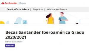 Becas Santander Iberoamerica
