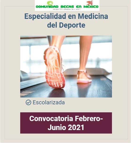 Curso ipn medicina del deporte 2021
