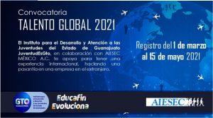 Beca 2021 Talento Global