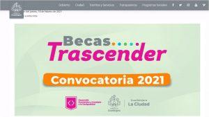 Becas Trascender Jalisco 2021