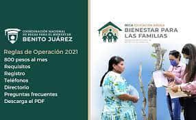 Beca Benito Juarez 2021 bienestar